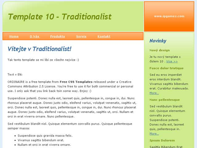 Free dreamweaver templates dreamweaver club for Free php templates for dreamweaver